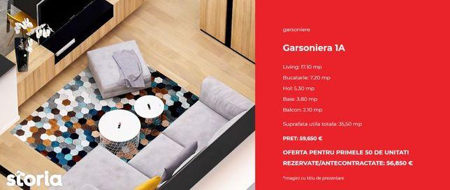 Garsoniera TIP 1A - Zen Politehnica Apartments