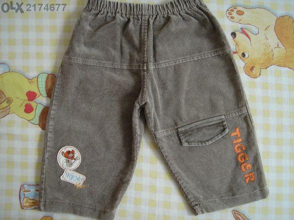 детски панталонки - джинси - пролет/есен/зима-9-12м./ 80 см.