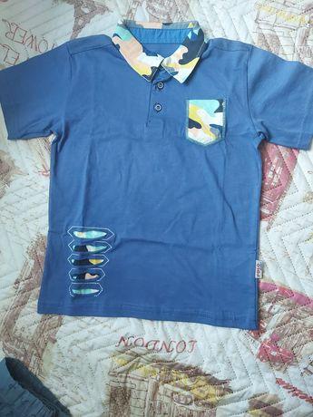 Тениска тип риза