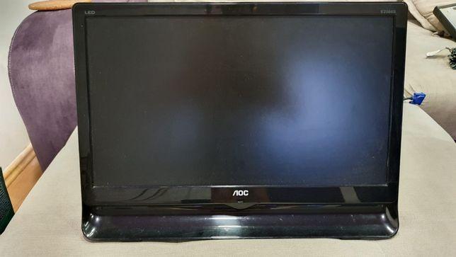 Monitor 20 inch LED plat
