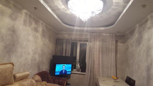 Продам 3-х ком. квартиру, меблированную, с евроремонтом в г. Талгар