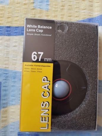 Capac balans de alb 67mm