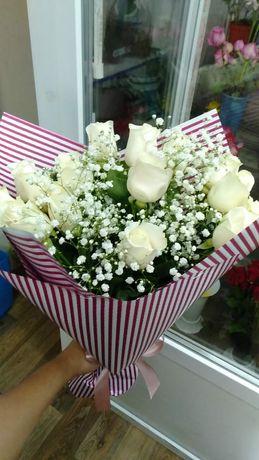Бесплатная доставка цветов по городу Атырау