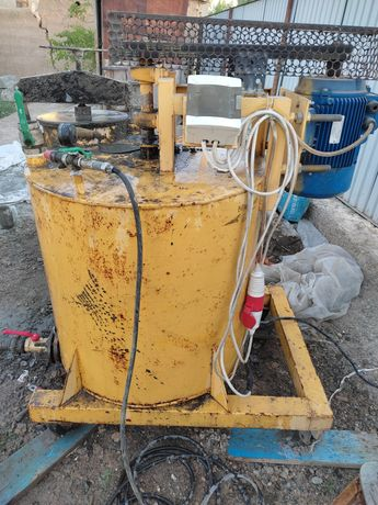 Оборудование для пенобетона и пенополистирола. Бас 350 баротехнология