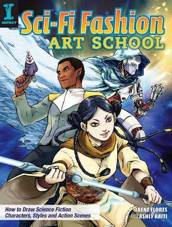 Super carte de invatare desen SF