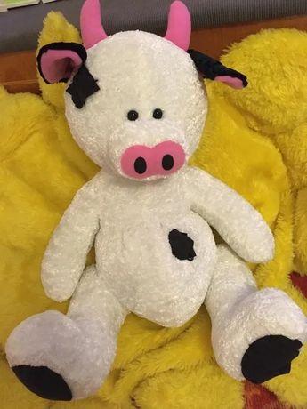 Vaca vacuta de plus jucarie 50 cm