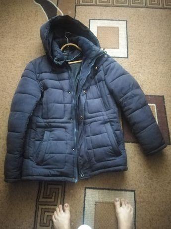 Мужская, зимняя, тёплая куртка