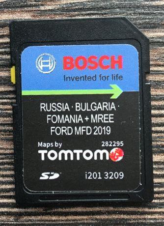 V9 Ford MFD Sd Card Eastern Europe 2019гд Форд България Русия Румъния