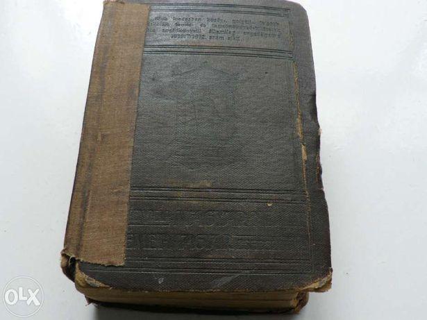 Dictionar Vechi German - Maghiar din anul 1910.