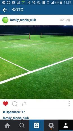 Искусственная Трава для теннисного корта или футбола