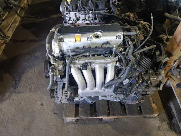 Двигатель из Японий на Хонда CR-V, К24.