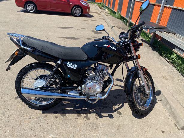 Мотоцикл минск д125