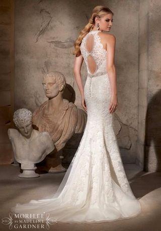 Намалена-Уникална сватбена рокля