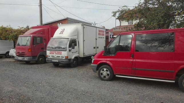 Transport marfa mobila moloz mutari relocari