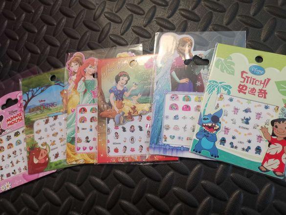 Детски стикери за нокти и уши
