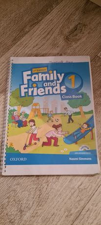 Family and friends class Book 1. Английский 1 класс.