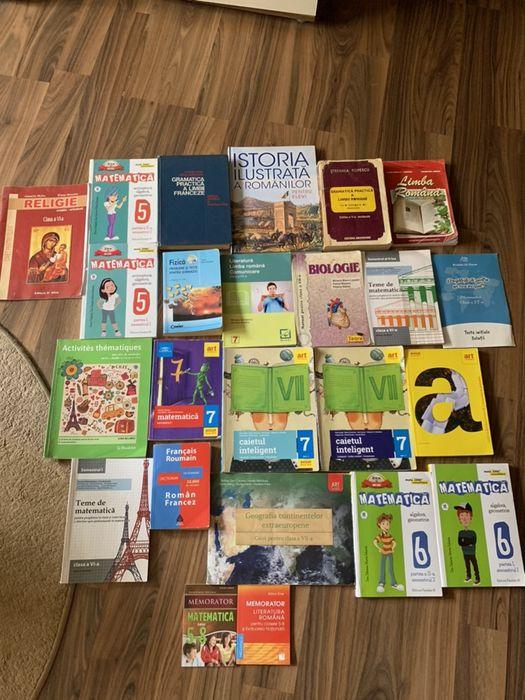 Manuale/ dicționare și culegere clasele 5-8 Bucuresti - imagine 1