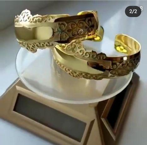 Билезик именной анаға арналған браслет для матерей серебро и позолочен