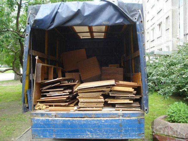 Вывоз строительного мусора старой мебели хлама. Недорого. Утилизация.