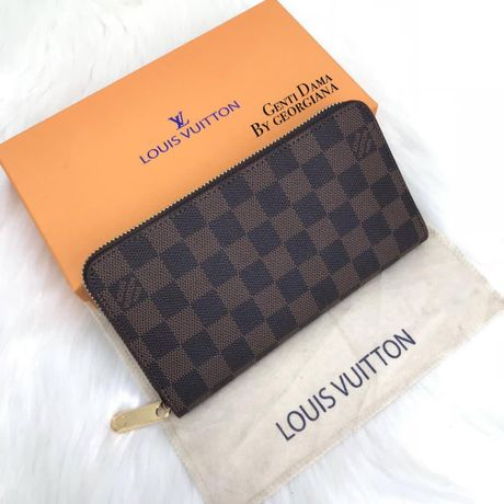 Portofel/ Portofele Louis Vuitton Zippy Wallet Piele Naturala