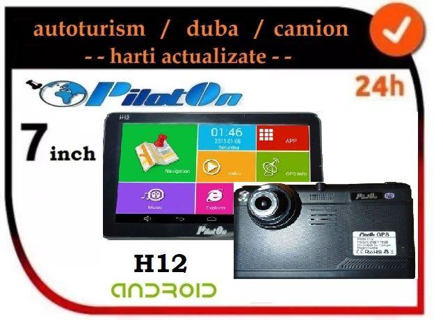 Vand Gps PilotON H12 cu 2GB ram, camion Europa, MODEL 2019