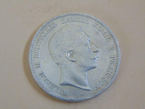 Moneda argint 5 Mark 1903 (cn40), 1907(cr12), 1895 (cr23)