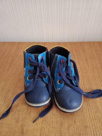 Детская обувь 21 размер осенний