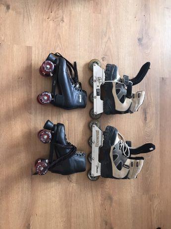 Подвижни обувки с ролери кънки  Otrs Nike &Skate