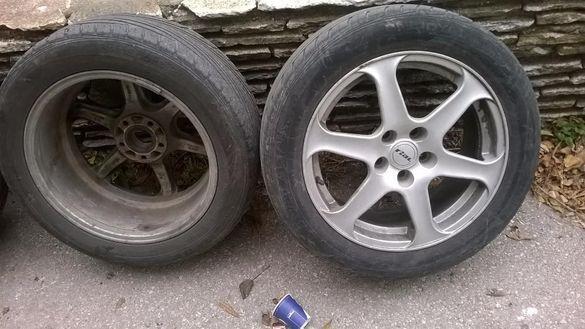 "алуминиеви джанти RIAL с гуми 17"" / бартер"