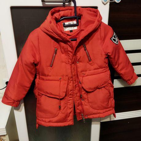 Куртка осенняя теплая 4-6 лет Доставка