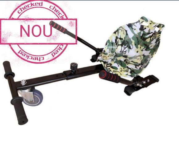 Hoverkart Green camouflage scaun pentru hoverboard