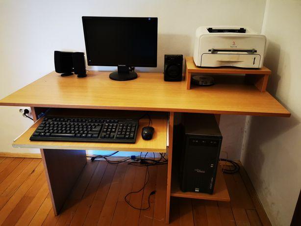 Calculator+Imprimantă+Masă birou