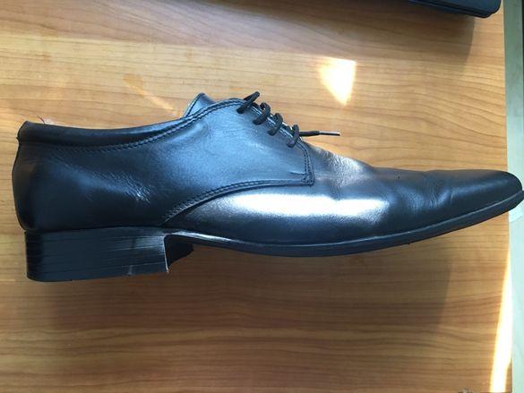 Официални обувки (половинки)45 номер , кожени