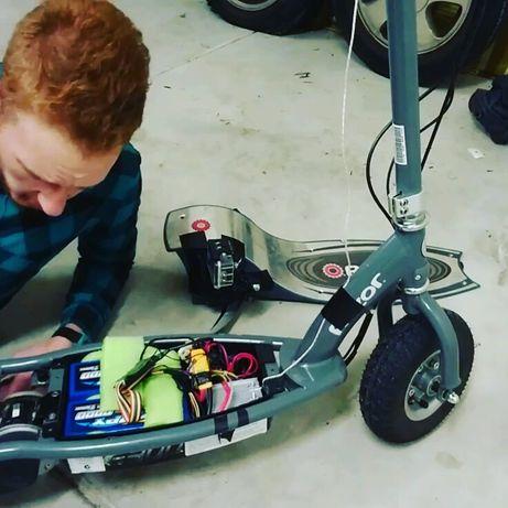 Ремонт Электровелосипедов, самокатов, электро скутеров.