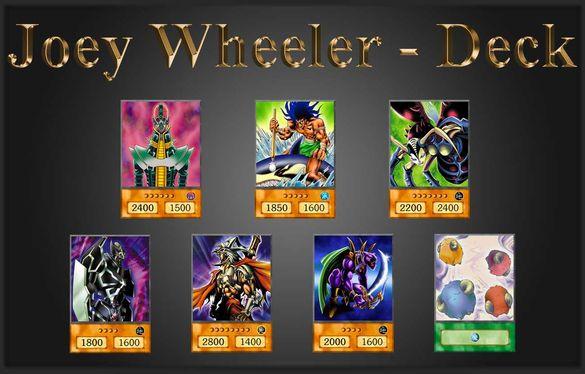Yu-Gi-Oh! Anime Style Cards: Joey Wheeler - Battle City Deck