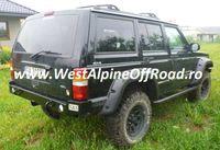 Overfendere Jeep Cherokee XJ, 1984-2001 - Fabricat din ABS - 12 cm