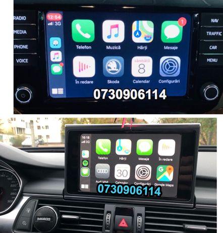 App-CONNECT Android Auto Mirrorlink CARPLAY Volkswagen Seat Audi Skoda