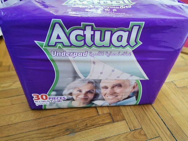Aleze / Protectii pentru pat Adult Actual Double, 90x180 cm, 48 buc.