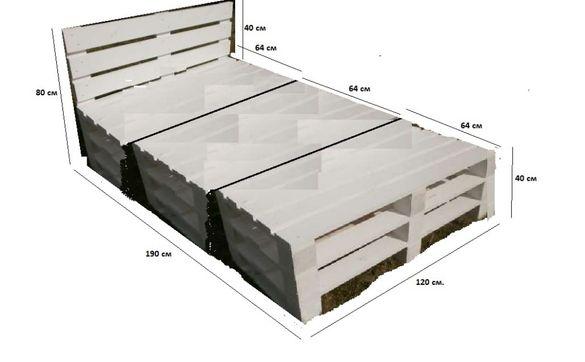 Многофункционална палетна мебел