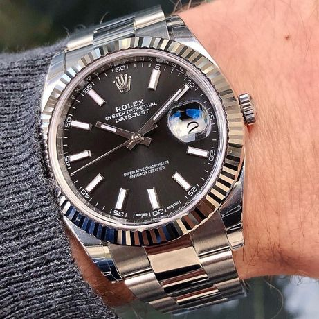 Rolex DateJust 41mm Silver 126334