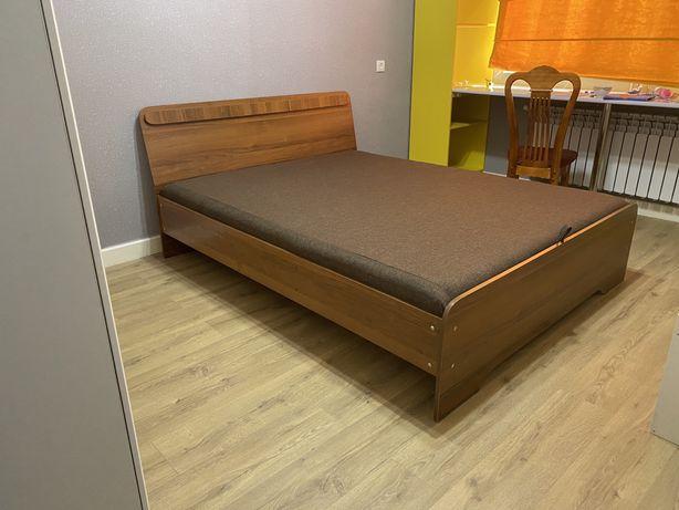 Скидки !!!Двухспальная кровать с матрасом в подарок В Алматы +Доставка