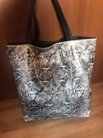 Дамска чанта с две лица