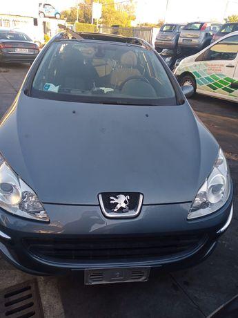 Vând piese de Peugeot 407 sw an 2008 2.0 hdi cod motor rhr