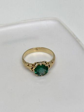 Inel aur 18kt.cu smarald vintage