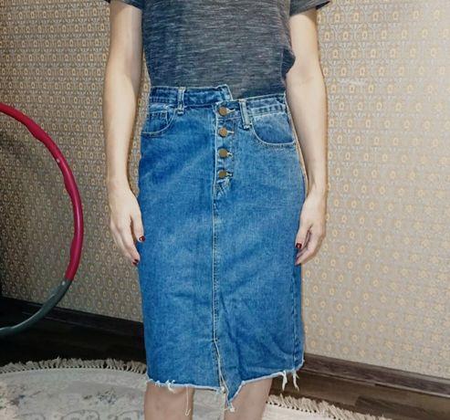 Юбка джинсовая продается