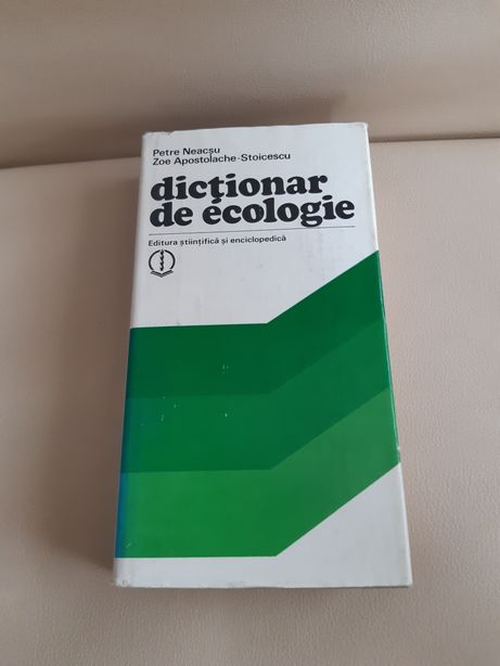 Dictionar de ecologie
