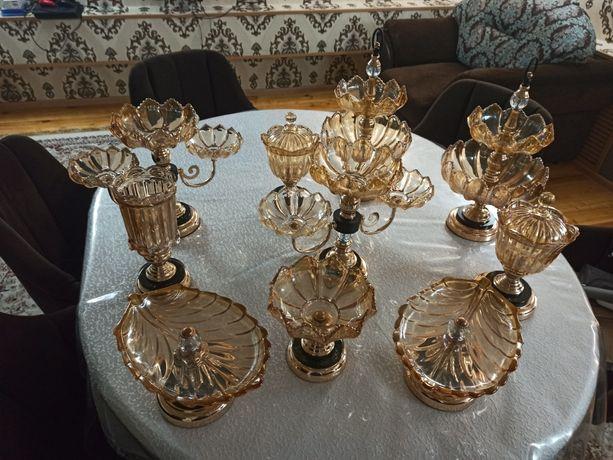Продам вазы чешские