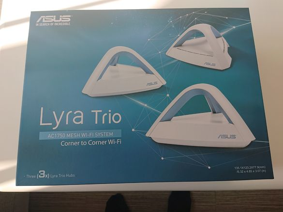Рутер Asus Lyra Trio меш система