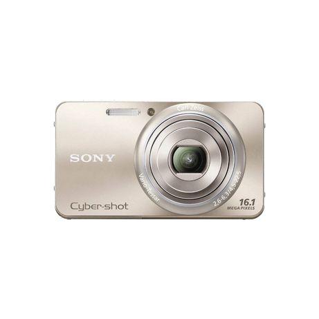 16.1 MEGAPIXEL W SERIES 5X OPTICAL ZOOM Cyber-Shot Compact Camera (gol