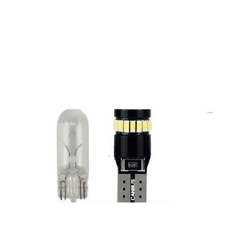LED Лед крушки габарити Т10 CANBUS с 24SMD и 30SMD диода